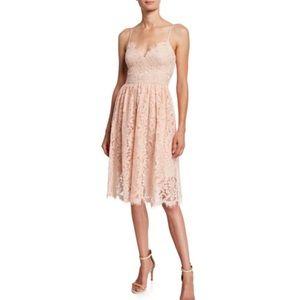 Eliza J eyelash fit and flare dress.